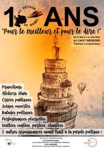 10 ANS, POUR LE MEILLEUR ET POUR LE DIRE ! @ Café Théodore
