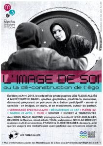 L'IMAGE DE SOI ou la dé-construction de l'égo / Vernissage spectaculaire @ Le Cap - Plérin (22) | Plérin | Bretagne | France