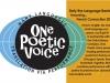one poetic voice
